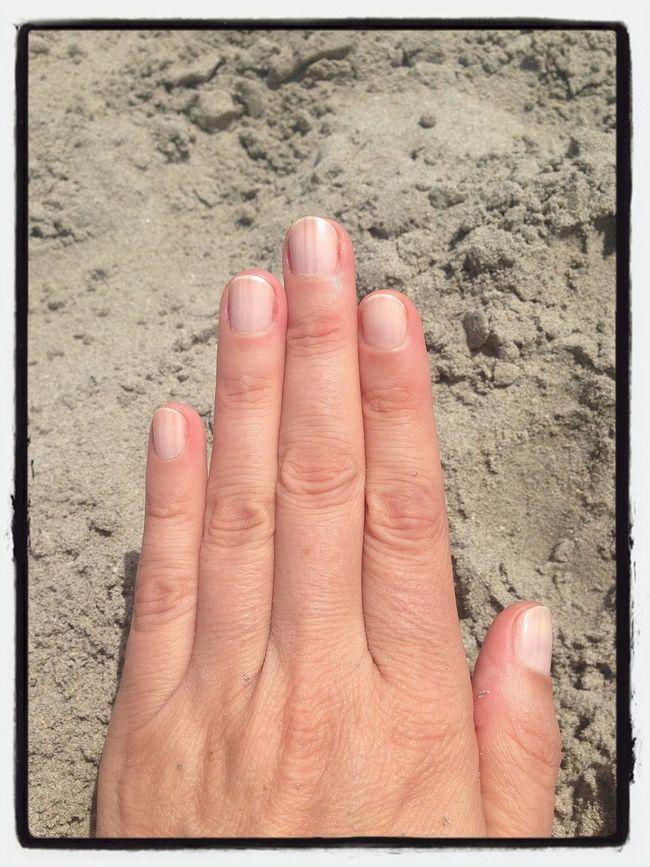 alineados en la playa...