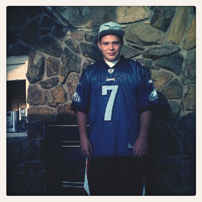 Reping The Eagles Last Summer