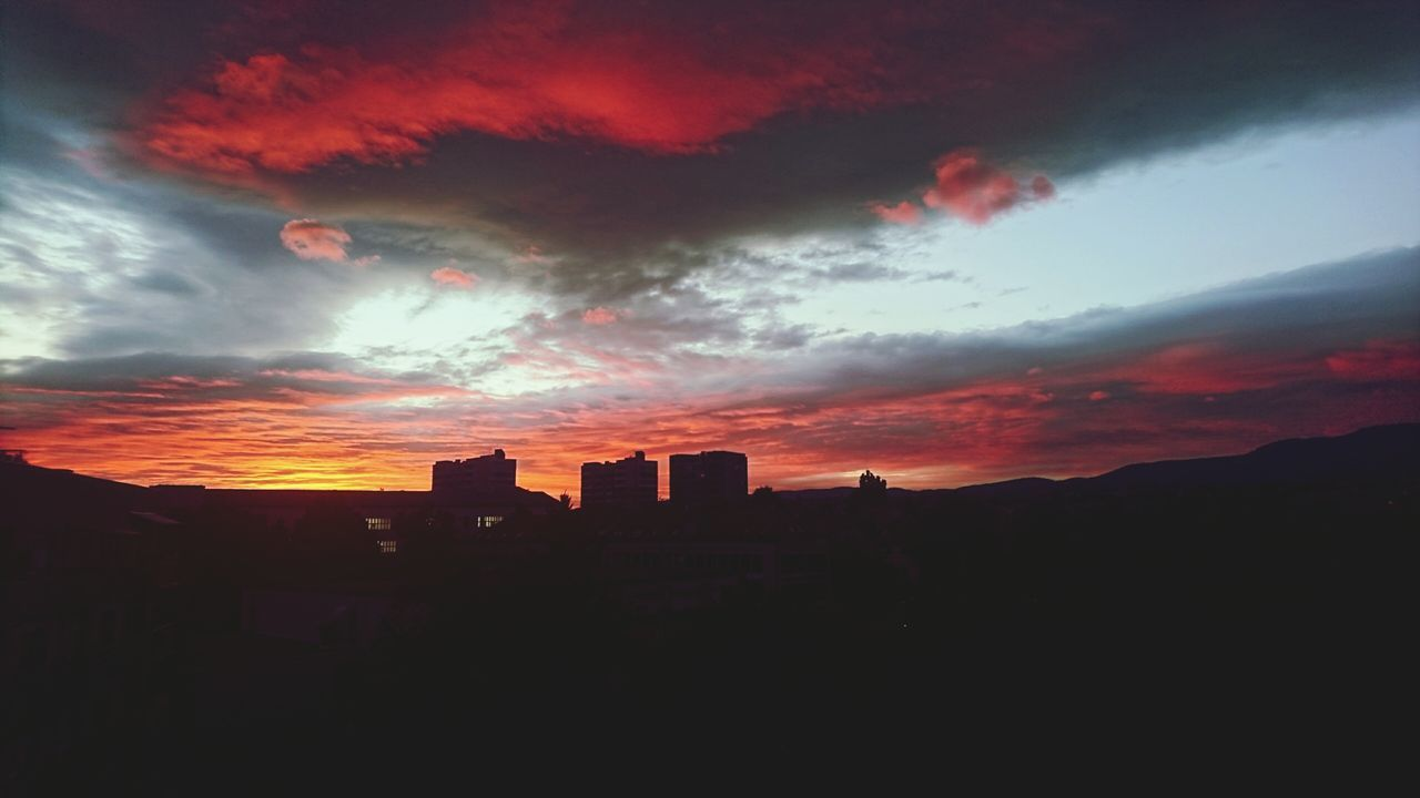 architecture, building exterior, sunset, built structure, sky, no people, nature, outdoors, city, day