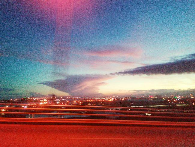Tornado Clouds Perfect Sky Nature Nature Photography Sunset in Lapu-lapu , Cebu