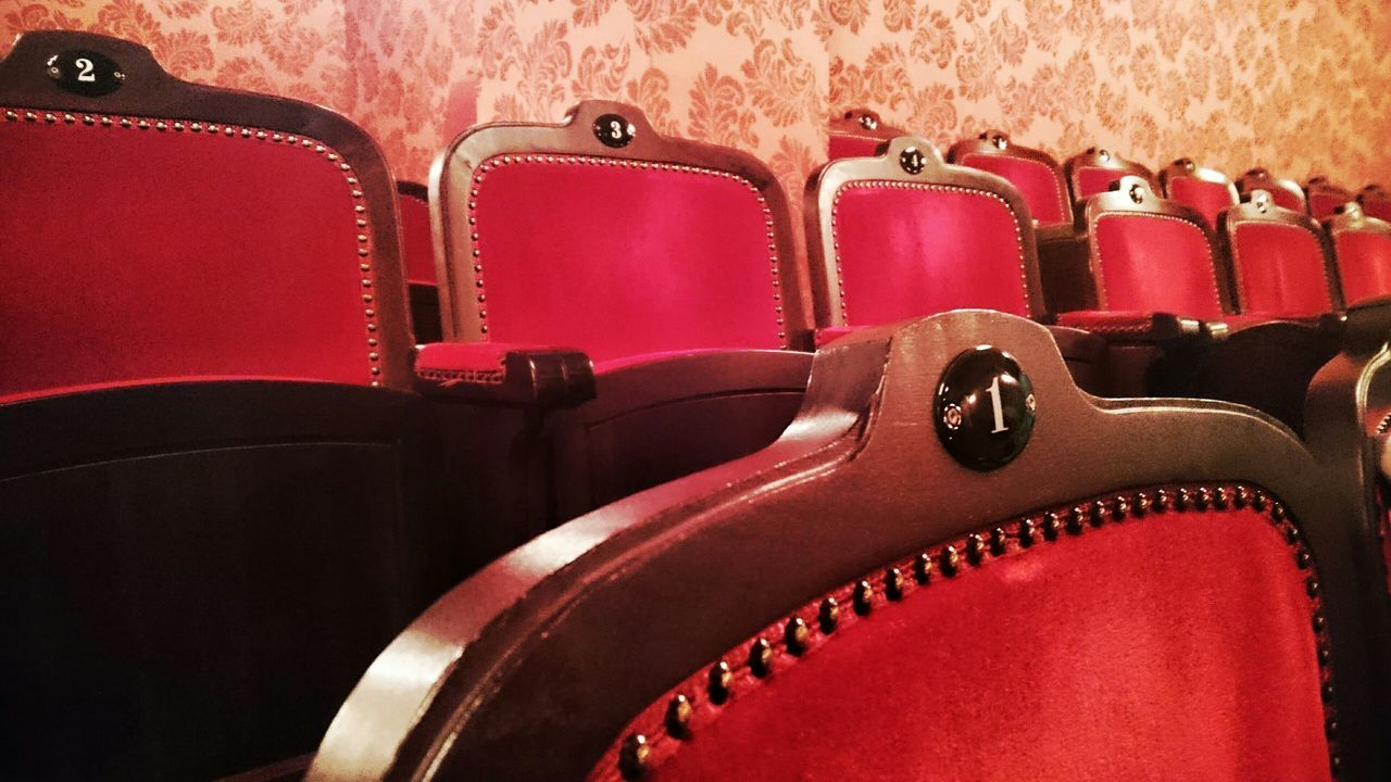 Musical Theater  Seats