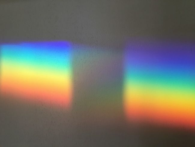 Rainbow Colors Wall