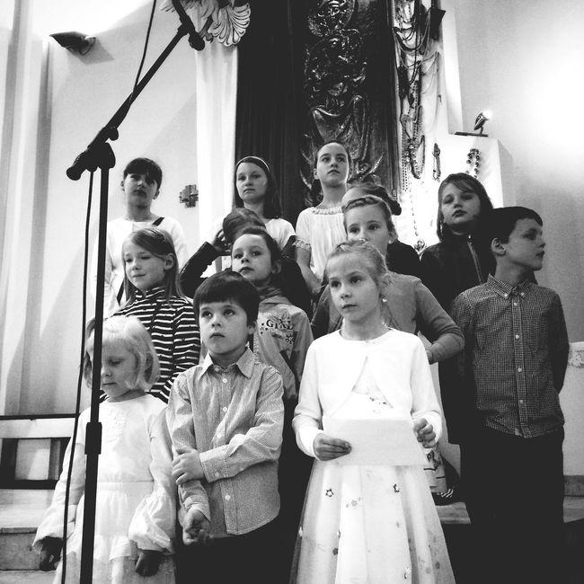 The Explorer - 2014 EyeEm Awards Choir  Children Church