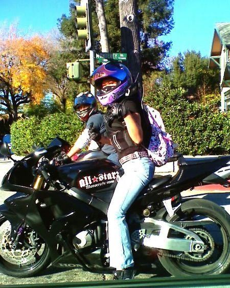 Tbt💕 GoodTimes Riding Female Rider Cbr600rr Honda Cbr600rr