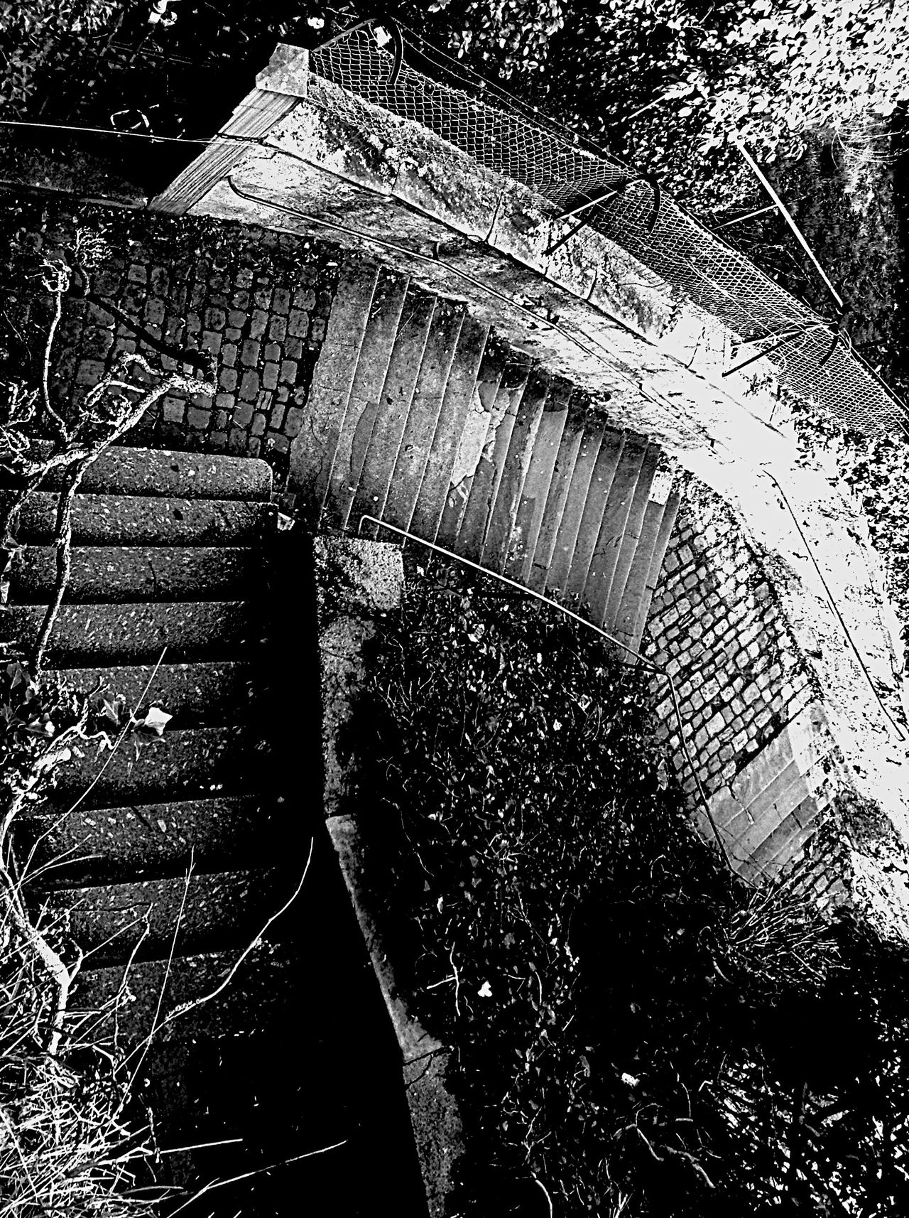 Which Way To Go? What goes up or down? Stairs in Baden Baden Germany