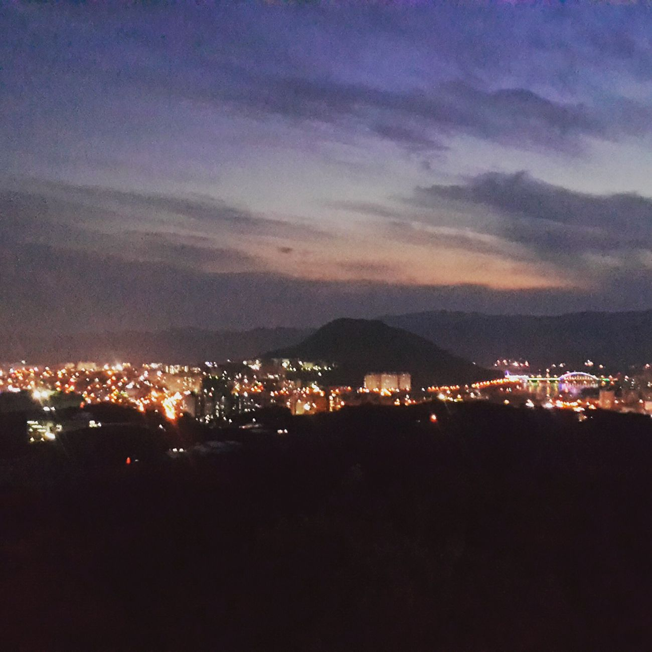 Night 구봉산 춘천 Night Of City First Eyeem Photo