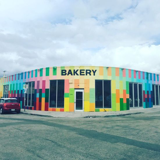 Bakery Colours Building Exterior Wonder Food Creative Art Cloud Planet Earth