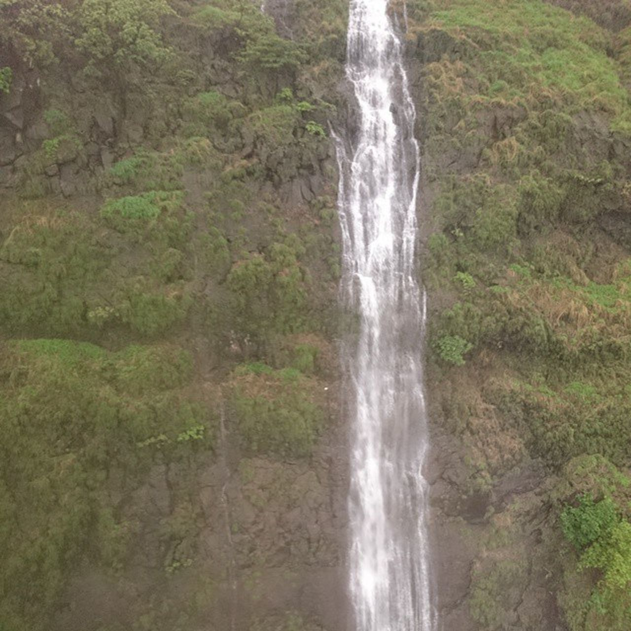 waterfall, nature, outdoors, beauty in nature, water, day, no people, motion, scenics, grass, sky