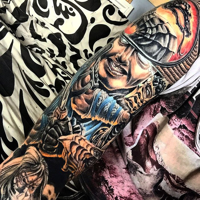 Need more Ink have to book another session soon Tattoo Tattoos Mortal Kombat