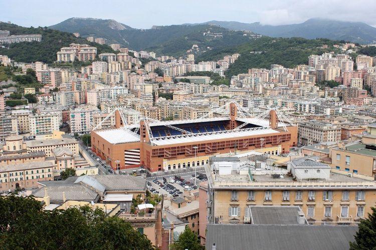 Stadio Luigi Ferraris di Genova Marassi Stadium Sampdoria Italy Soccer Calcio Arena Genoa