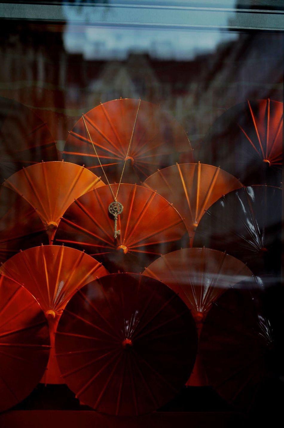 Golden key🔑 Gold Golden 43 Golden Moments Secret Key Jewelry Umbrella Umbrellas Redumbrella Scarlet Magic Reflections Building Building Exterior Prague