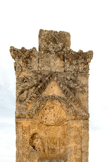 Alahan Monastery Alahan Monastery Alahan The Monastery Ancient Ancient Civilization Architecture Built Structure Faithful History Monastery Mut Old Ruin Religious  Religious Architecture Sculpture Sky And Clouds Statue Stone Material Travel Destinations Turkey
