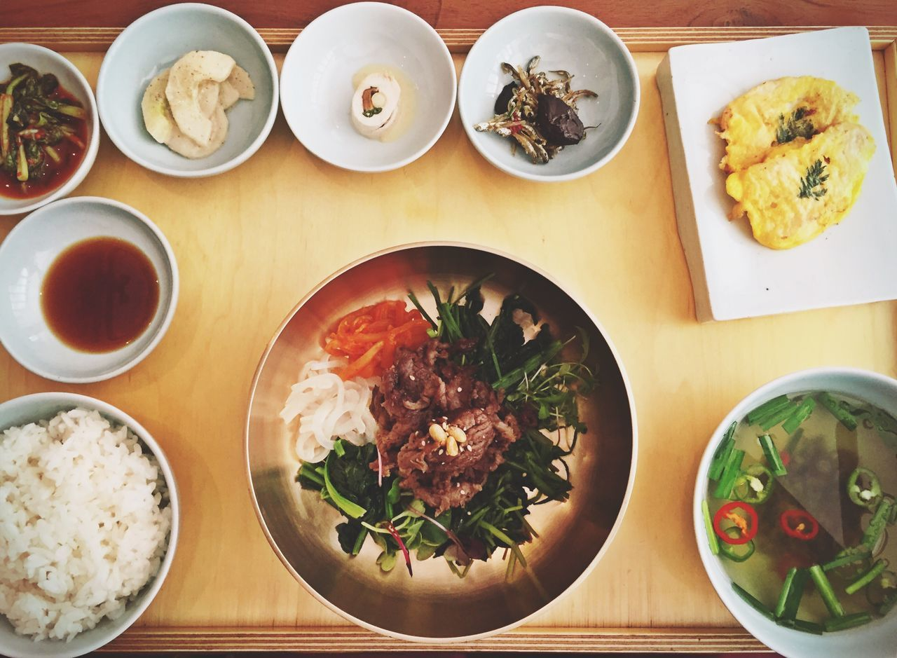 Seoul Korea Korean Food Bibimbap Foodporn Luxurylifestyle  Restaurant IPhoneography Foodphotography Business Lunch Food Food Porn Food Photography