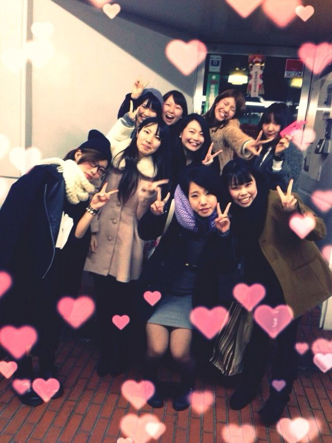 Hanging Out Girl's Night Out Girl's Just Wanna Have Fun! :) 新年会