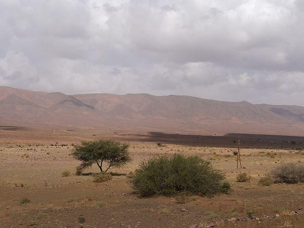 Desert Arid Climate Landscape Mountain