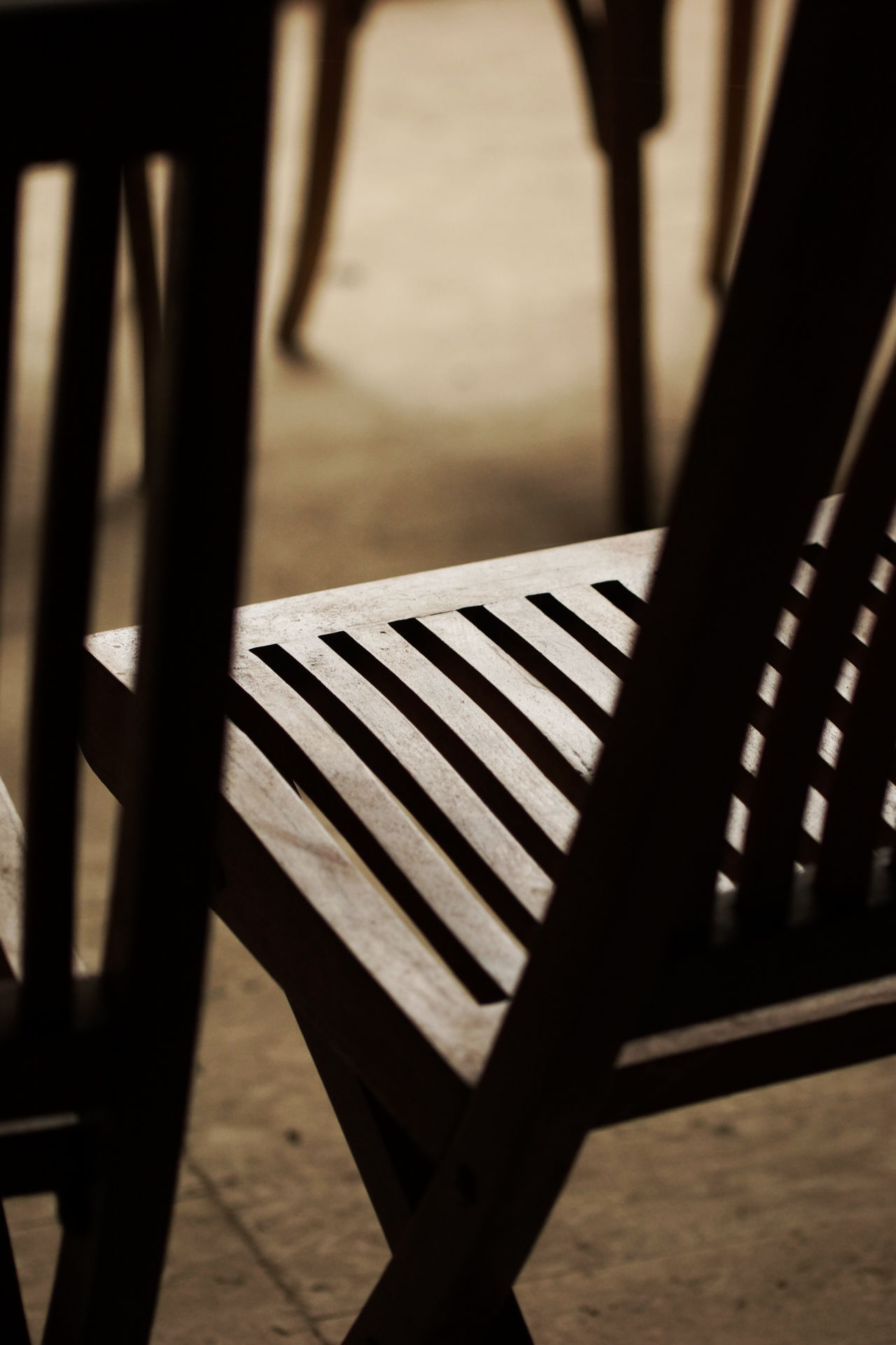 Just Chairs Abstract Brown Chair Close-up Comfort Comfortable Contrast Day Detail Folding Chair Furniture Indoors  Interior Interior Design Interior Views Invitation Inviting Monochrome No People Pattern Reflection Seat Selective Focus Shadow Sunlight