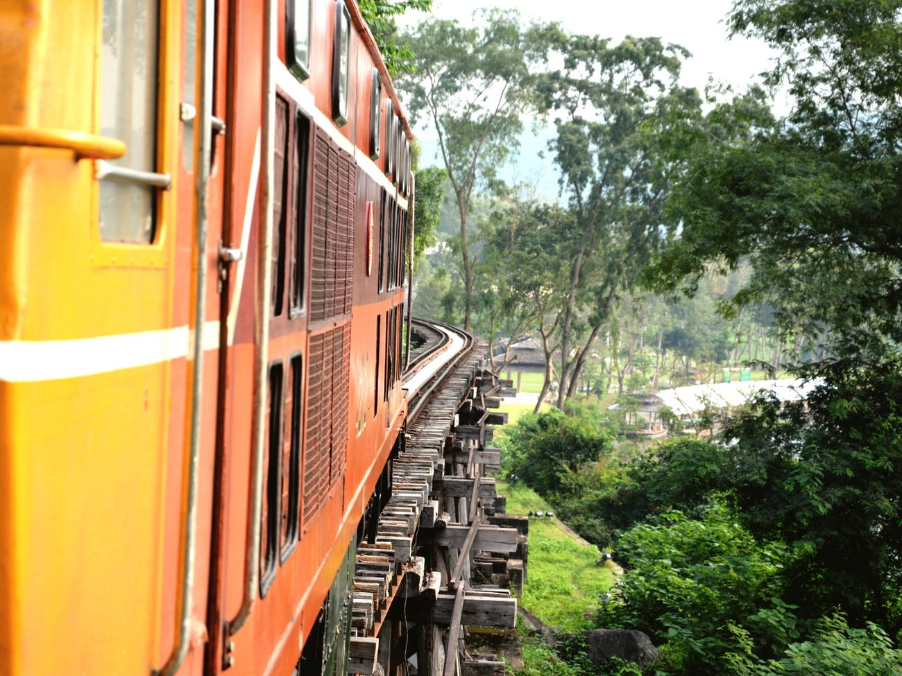 Thailand Thailand_allshots EyeEm Thailand Nikon 2013 Thailandtravel Roadtrip EyeEm Best Shots Train Pontdelarivierekwai Bridge Spotted In Thailand On The Way