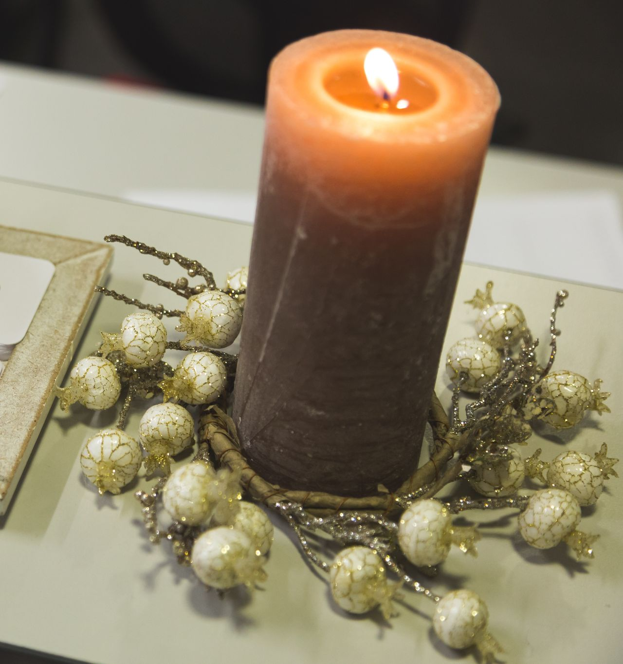 Candle Candle Light Christmas Decoration Decor Decoration