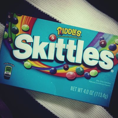 Candy Skittles Blue