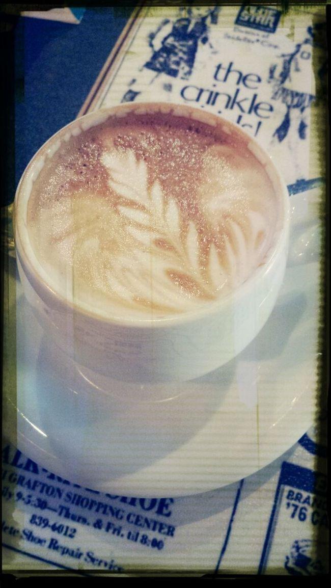 Gutes Cappucino mit besten Freund bevor Approbation Bekommen ist eine gute Lösung Cappucino Relaxing Coffee Meeting Friends