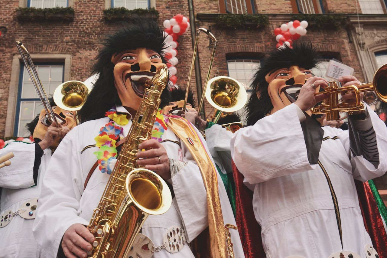 Beautiful stock photos of fasching, Arts Culture And Entertainment, Brass Instrument, Carnival, Costume