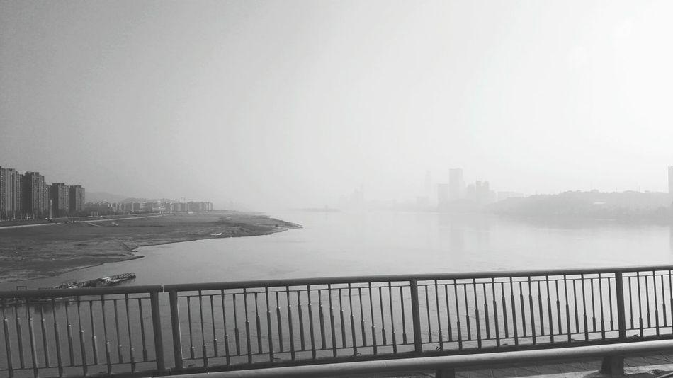 环境,雾。 First Eyeem Photo Environmental Pollution Xiangjiang River