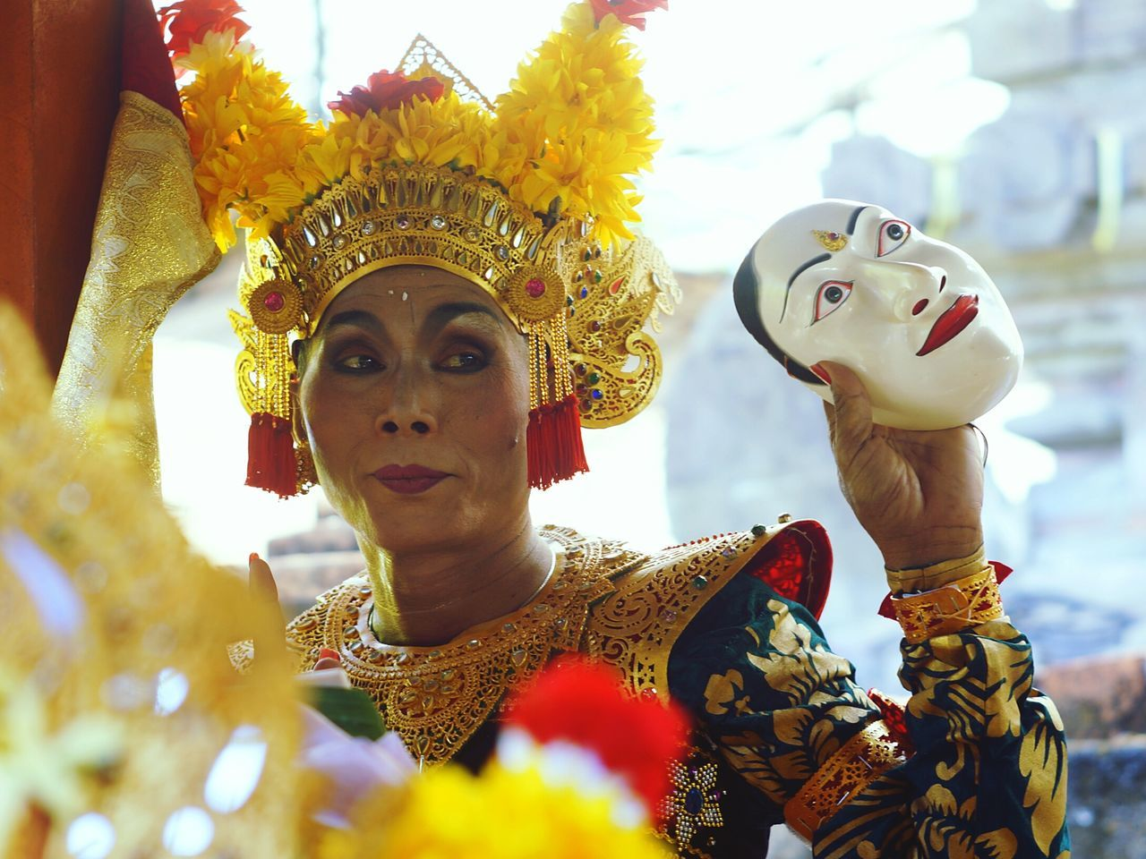The dancer Uniqueness Character Headshot Arts Culture And Entertainment One Person Outdoors People Day One Man Only Artist Dancer Istockphoto Eyeem Market Week On Eyeem EyeEm Indonesia Bali, Indonesia