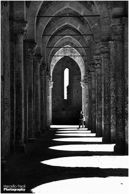 bw_collection at Abbazia Di San Galgano by Marcello