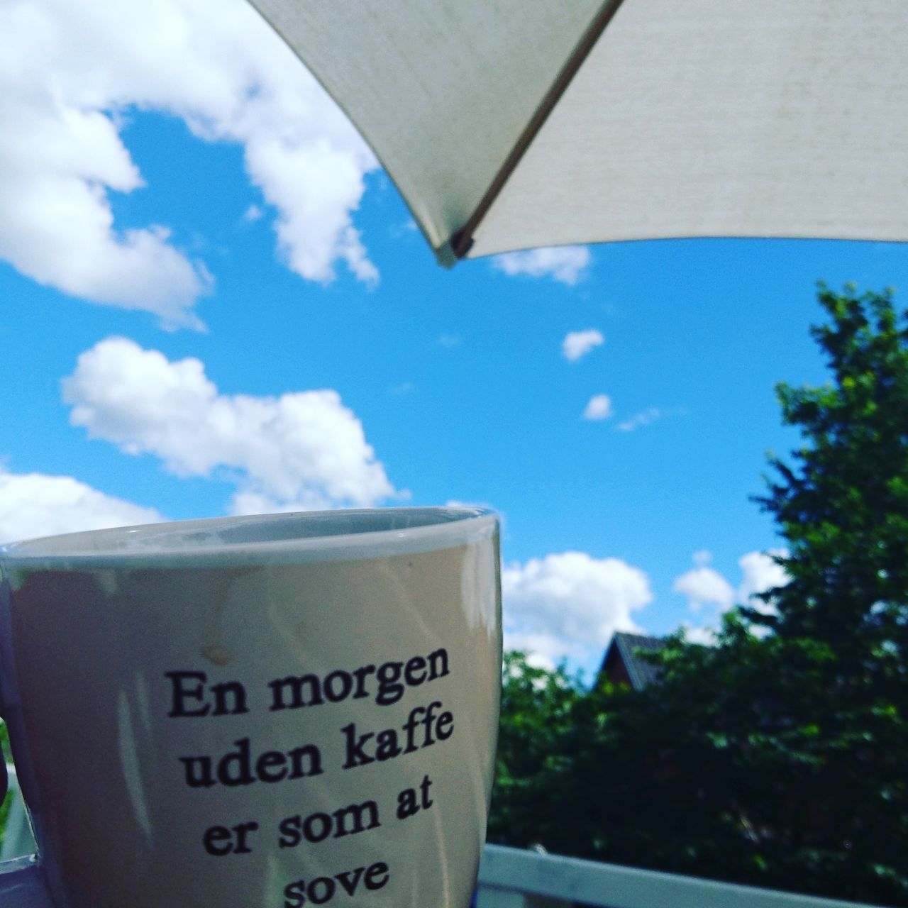A cup of coffee a fine summer morn Coffee Coffee ☕ Summermorning
