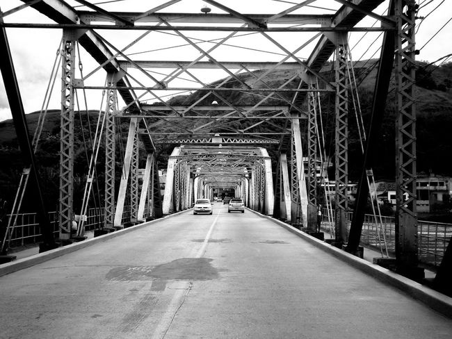 Architecture Black And White Bridge Bridge - Man Made Structure Built Structure Connection Metal Ponte Barra De Piraí Ponte De Ferro Transportation Tunel Aberto