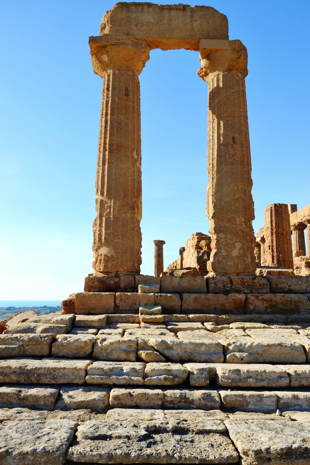 Old Ruin History Travel Destinations Ancient Civilization Outdoors Sky Day Open Edit Agrigento, Sicily Travel Sicilyphotography Architecture Ancient Architectural Column Ruined The Past Ancient History Archaeology Agrigento Sicilianjourney Built Structure Monument Temple