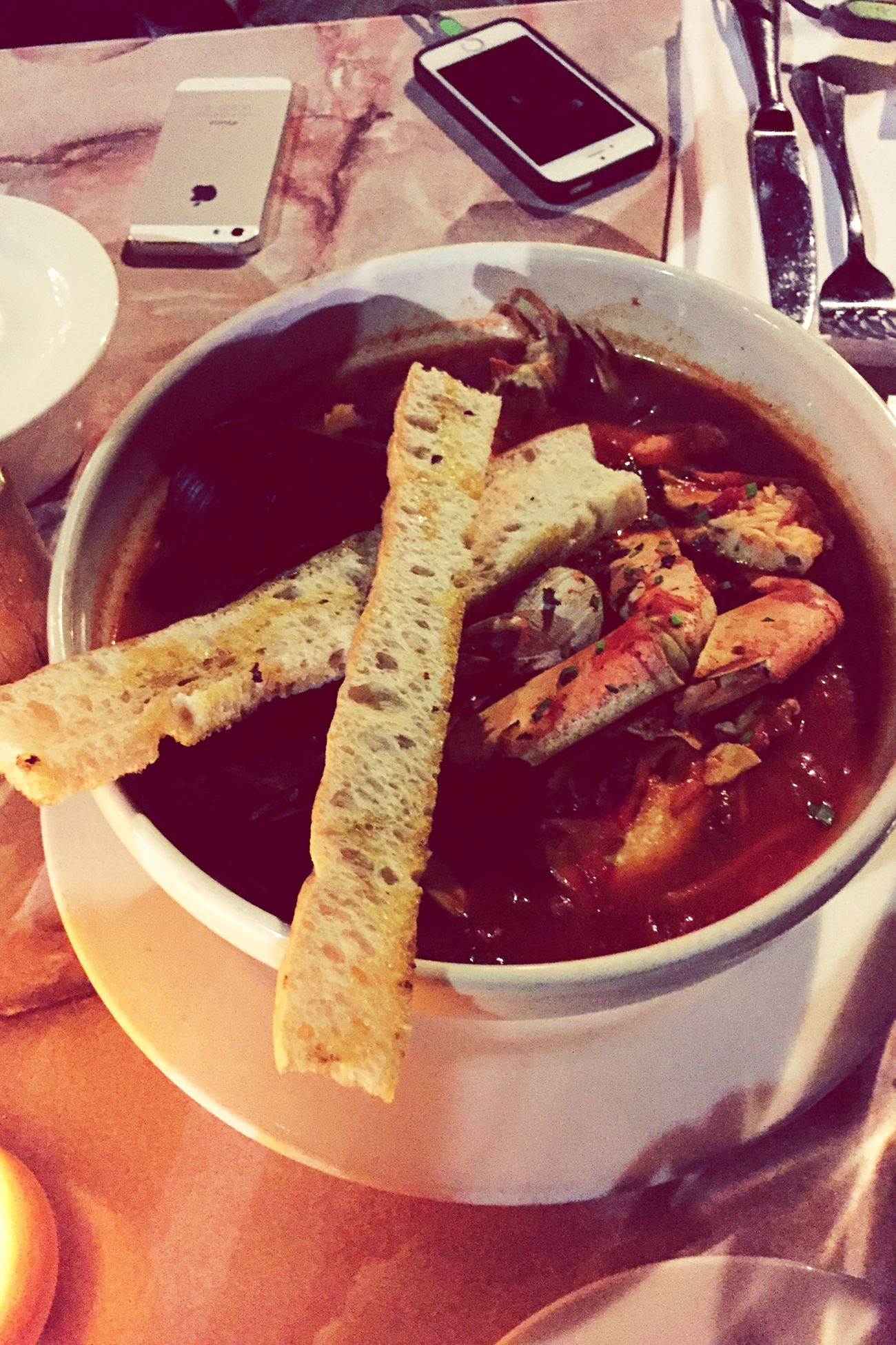 Pot Of Happiness Seafood Yum:) Kingprawn Scallop Dungeness Crab Codfish Mussels Clams Harbourfront My World Of Food