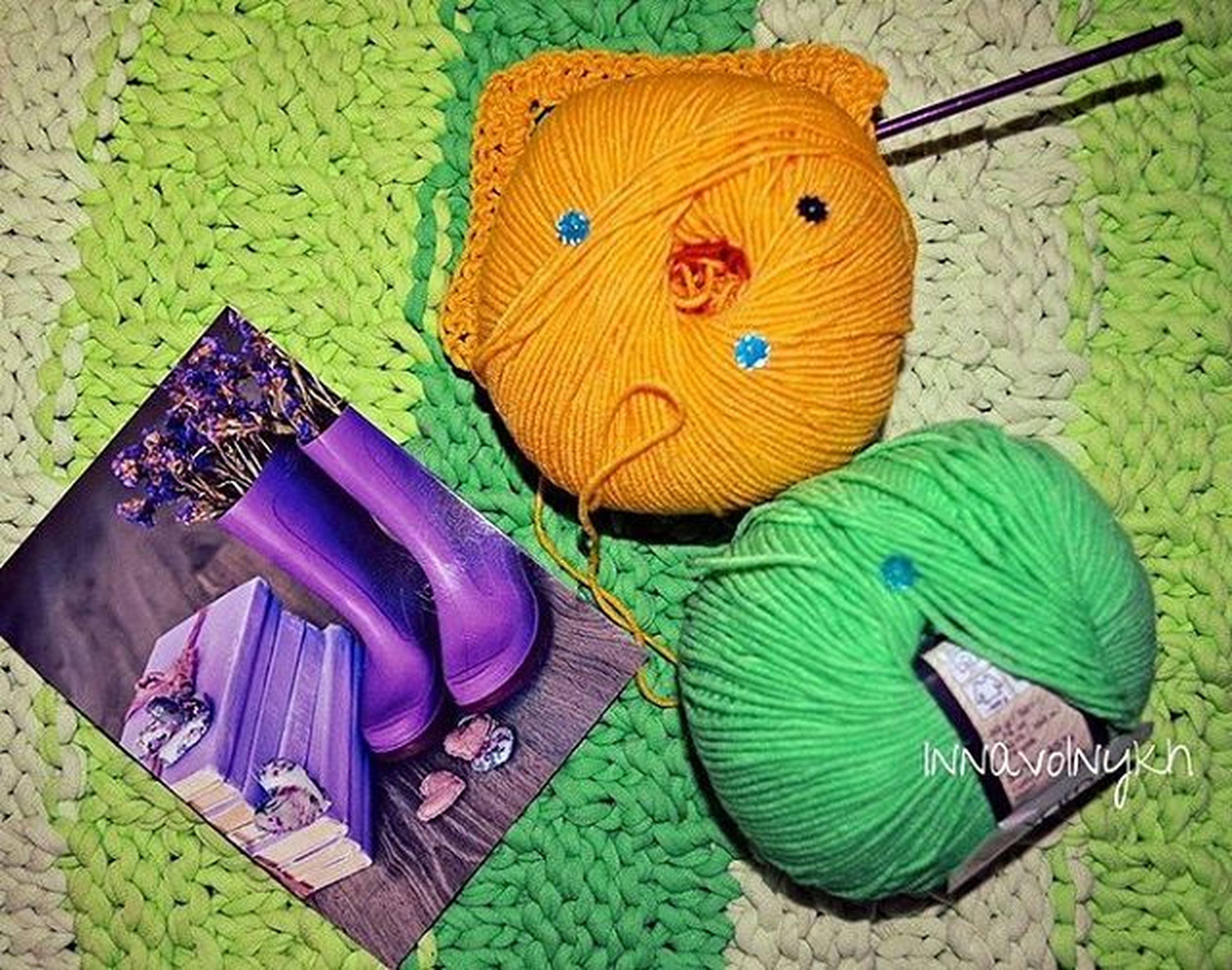 Чудо-открытка от Марины @im_noctua и 2 моточка Yarnartjeans для весеннего настроения 🌼🌻🌸открытка открыточное_безумие вяжукрючком Crochetlove Crochet