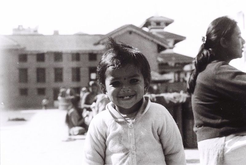 The streets of Kathmandu Nikkormat FS (1965) Filmcamera Filmisnotdead The Purist (no Edit, No Filter) Untold Stories Portrait Child Fortheloveofblackandwhite Tadaa Community EyeEm Best Shots