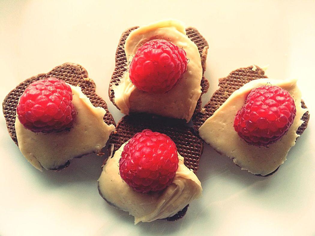 Dessert Yummy Raspberries Cookies Calories Caloriesoverload Sugar