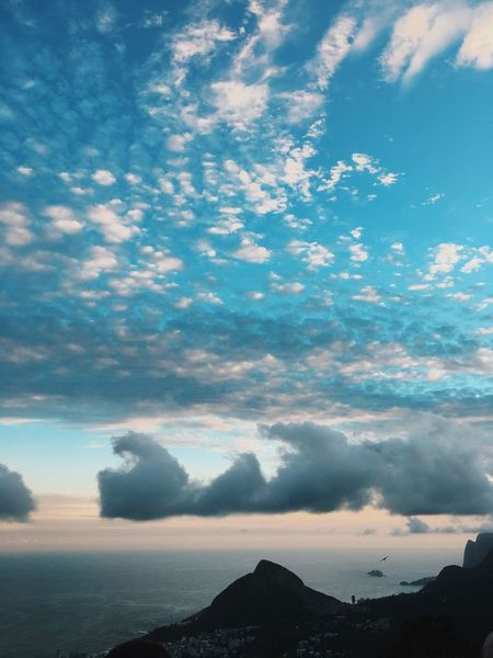 Sky Cloud - Sky Beauty In Nature Scenics Nature Tranquil Scene Tranquility No People Outdoors Mountain Sunset Day