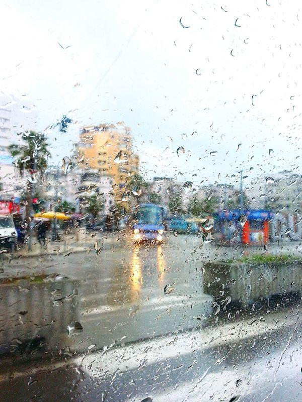 Pioggiaa Piove Piove. Pioggia Durres Roadtodurres Car Cars