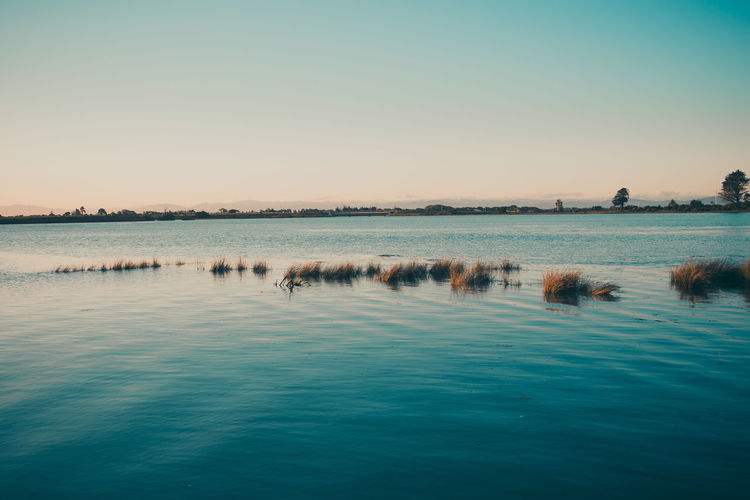 Calm Clear Sky Nature View Bliss Blue Dusk Lake Landscape New Zealand Sky Water