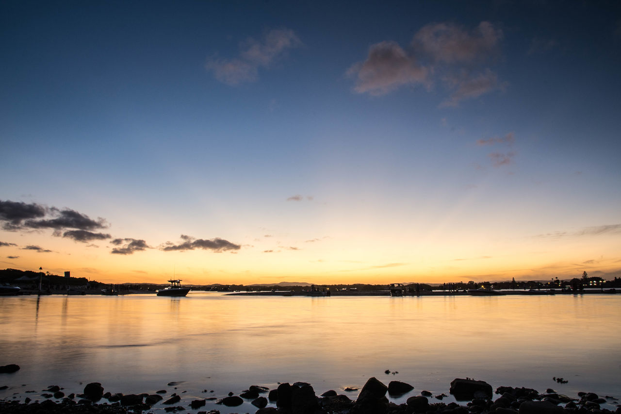 Forster Nsw Australia Sunset