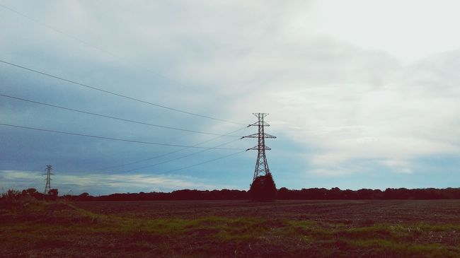 Electricity  Rural Scene Nature No People Environment Alternative Energy Cloud - Sky Dramatic Sky Sky Day