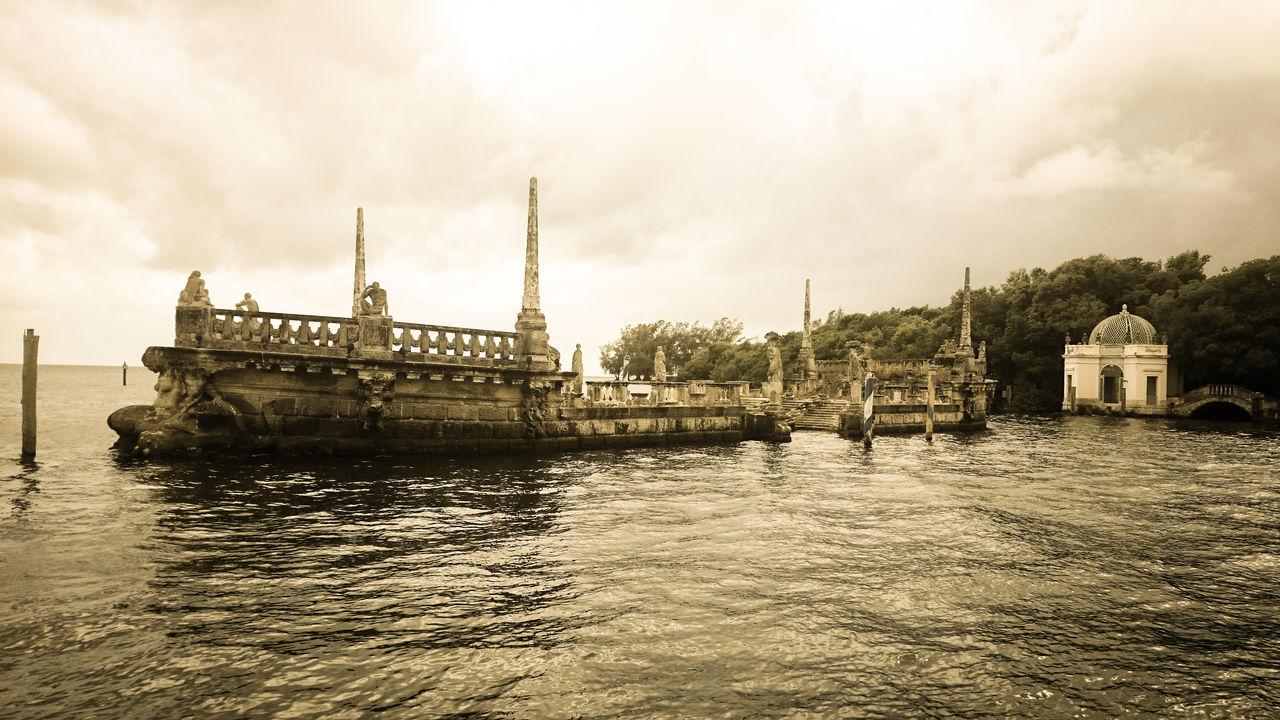 Coconut Grove Miami Ship Wreck Structure Vizcaya Vizcaya Museum