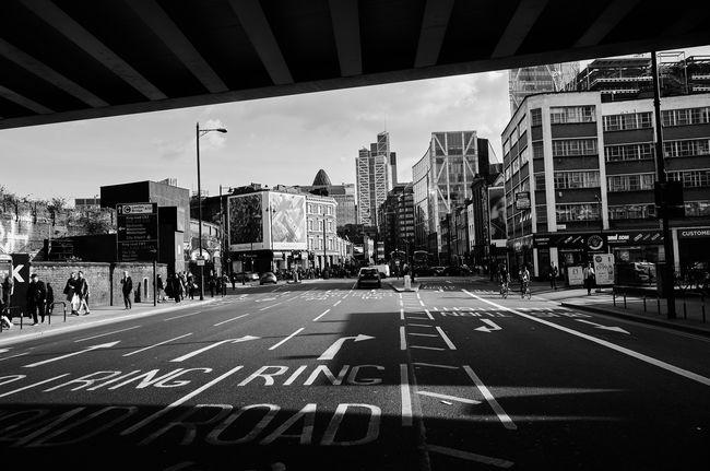 Ring Road. Maxgor Maxgor.com Rawstreets Blackandwhite The Great Outdoors - 2016 EyeEm Awards Blackandwhite Photography London Leica City Shoreditch Shoreditch London