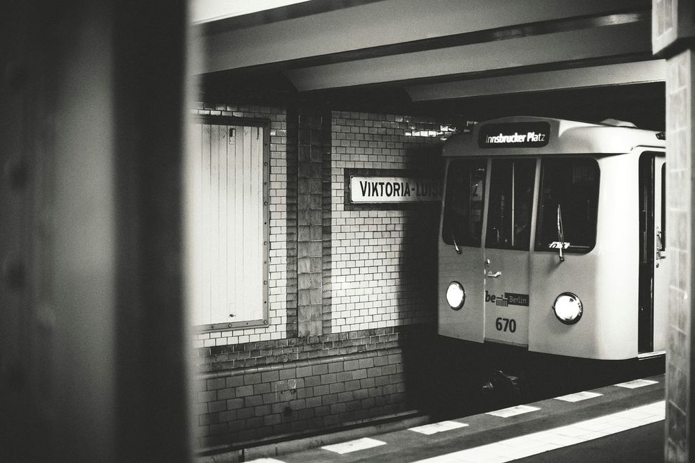 One of the oldest subway cars in regular service at Berlin Underground, built in 1973 Subway Station Underground Undergroundphotography Berlin Berlin Subway Streetphotography Blackandwhite EyeEm Best Shots Monochrome