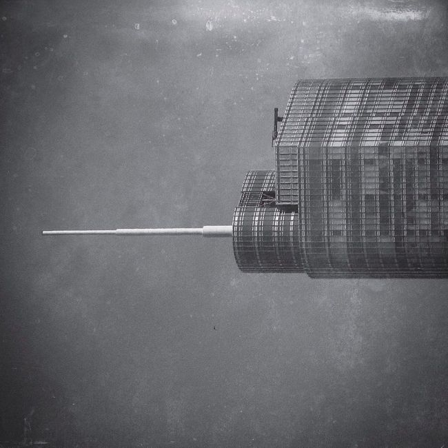 The Needle Architecture Iloveprintshop Black & White Justgoshoot