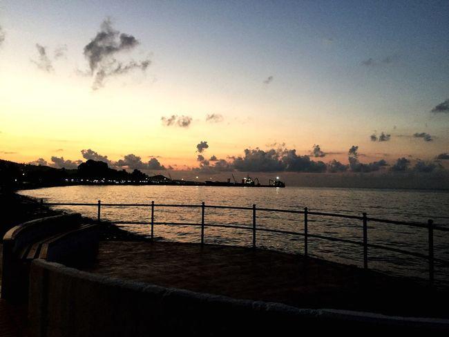Sahil Deniz Akşam Muhteşem Karadeniz Fatsa FatsaSahil 🌥💙