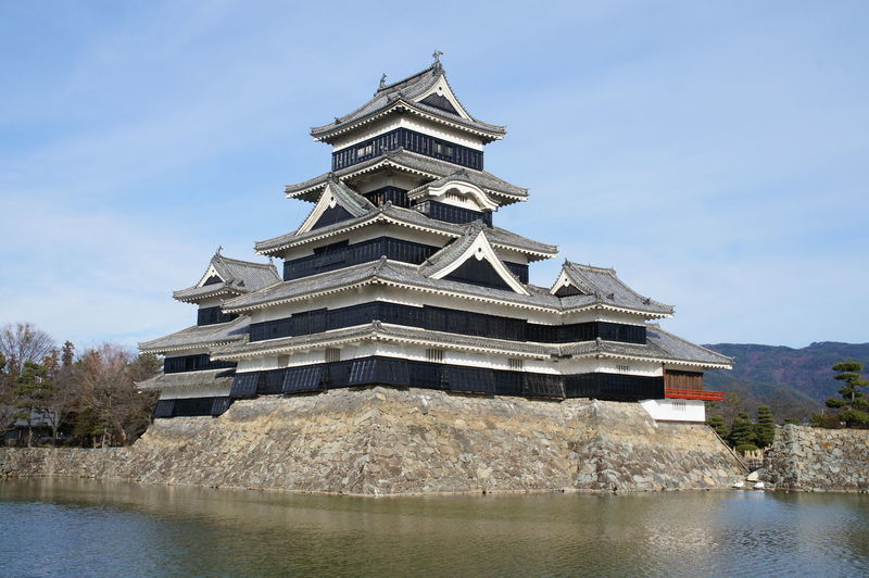 Matsumotojo Castle【松本城・長野】 Matsumotojo Castle Sky Japan Japan Photography Natural Superb View Of Japan Superb View
