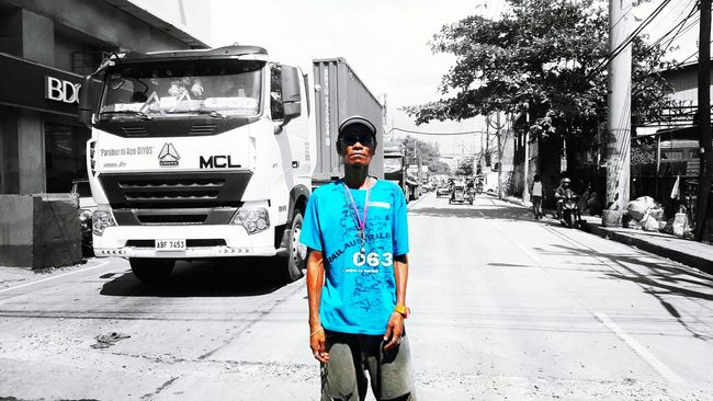 Cellphone Photography Streetphotography Taking Photos Eyeemphotography Eyeem Philippines Color Splash Philippines Traffic Enforcer People And Places People And Places Urban Scene