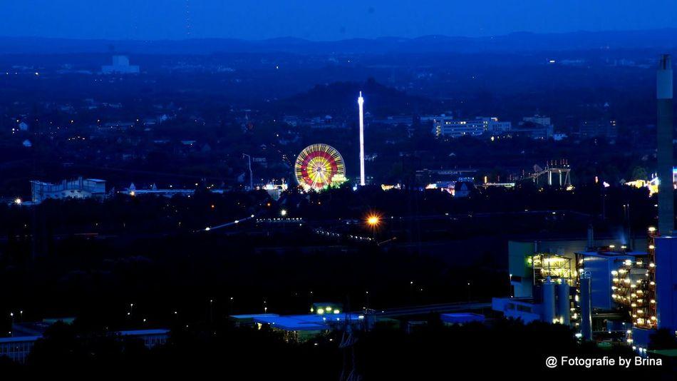 Crangerkirmes Herne  Long Exposure Ruhrgebiet Cities At Night