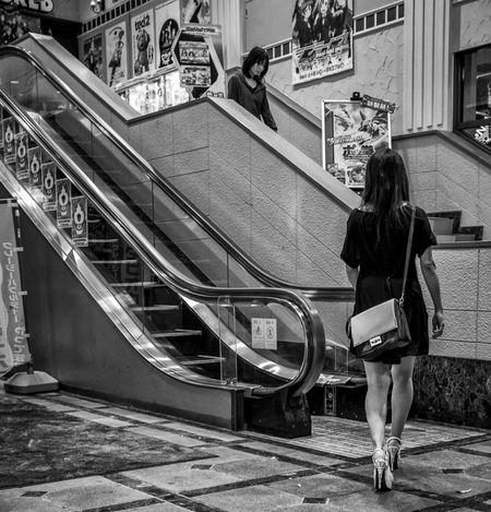 Up Down Japan Japanese  Street Streetphotography Fashion FujiX100T Style Blackandwhite People City