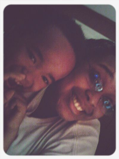 me & my lil man jaylen ♥